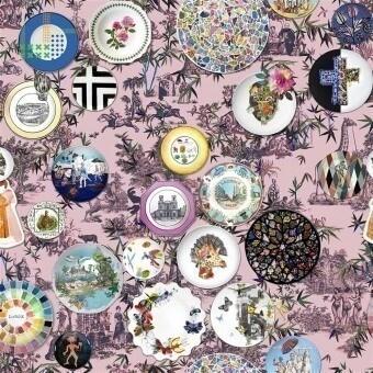 Folie Fabric Myrtille Christian Lacroix