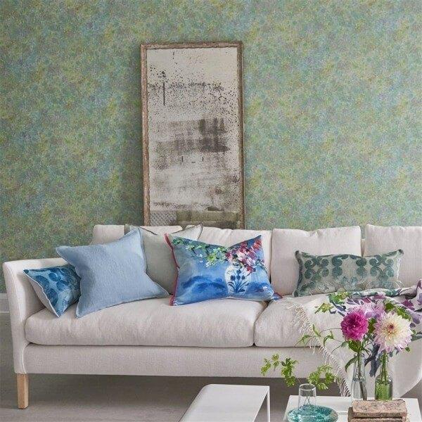 papier peint lustro designers guild. Black Bedroom Furniture Sets. Home Design Ideas