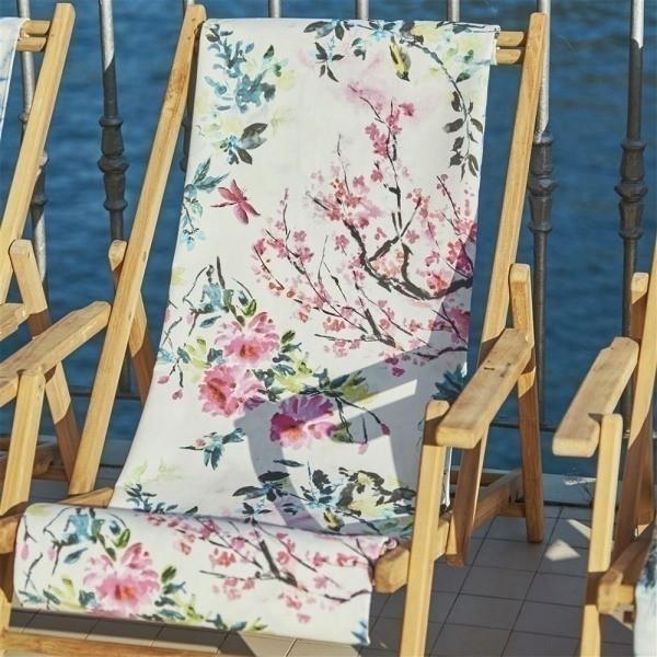 Tissu Chinoiserie Flower Outdoor - Designers Guild