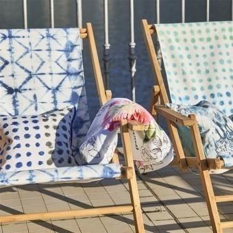 Seraya Outdoor Fabric Graphite Designers Guild