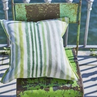Palasari Outdoor Fabric Aqua Designers Guild