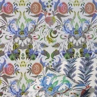 Noailles Wallpaper Graphite Christian Lacroix