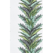 Papier Peint Groussay  Vert Buis Christian Lacroix