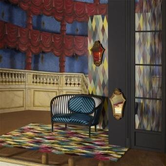 Mascarade Arlequin Rug 160x260 cm Christian Lacroix