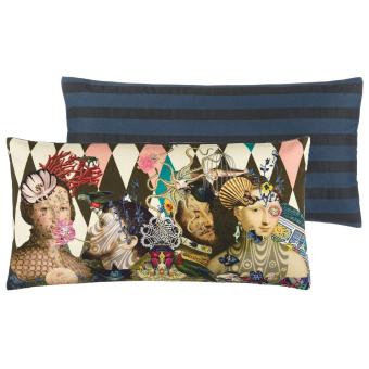 Le Curieux Argile Cushion 30x60 cm Christian Lacroix