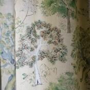 Tissu Arboretum Parchment Royal Collection