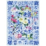 Plaid Majolica Cornflower 190x130 cm Designers Guild