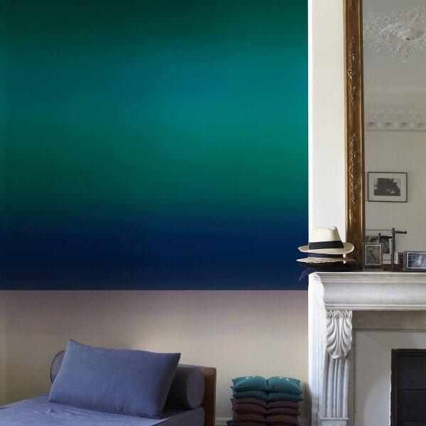 papier peint l 39 aurore nobilis. Black Bedroom Furniture Sets. Home Design Ideas