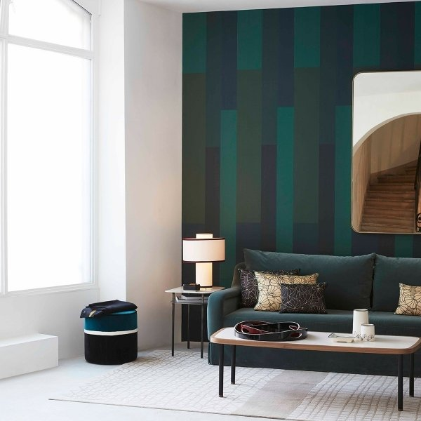 papier peint l 39 alternance nobilis. Black Bedroom Furniture Sets. Home Design Ideas