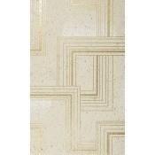Papier peint Rockefeller Orange/Beige Nobilis