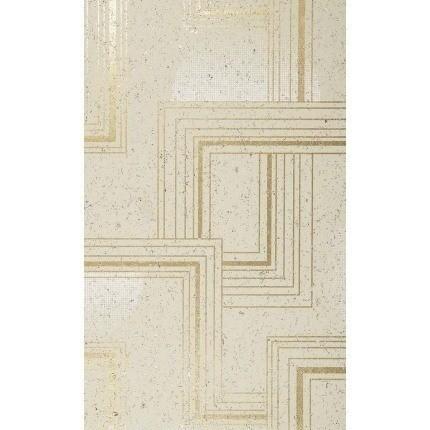 Papier peint Rockefeller Nobilis Doré/Beige QNT22 Nobilis
