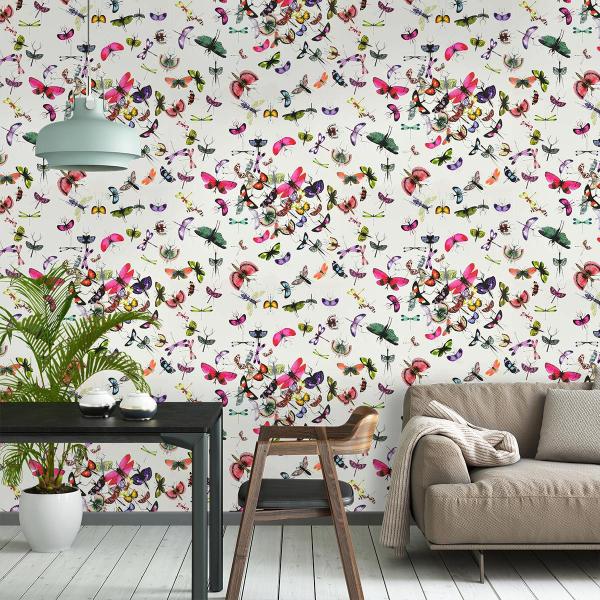 papier peint mariposa christian lacroix. Black Bedroom Furniture Sets. Home Design Ideas