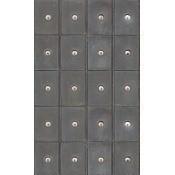 Papier peint Industrial Metal Cabinets Grey/Brown Mindthegap