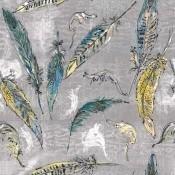 Tissu Icar Bleu Lalie Design