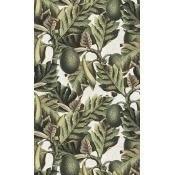 Papier peint Exotic Fruit I Green/Grey Mindthegap
