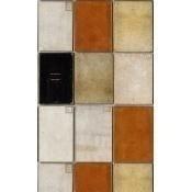 Papier peint Book Covers Taupe/Orange/Black Mindthegap