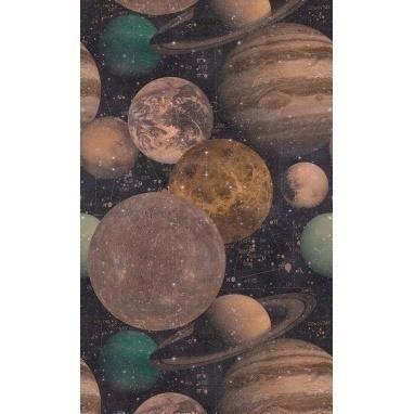 Papier peint The Universe Copper/Green/Black Mindthegap