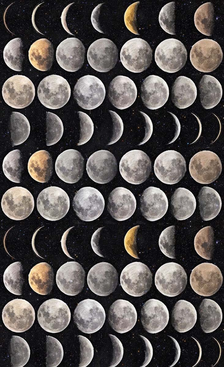 Moon Phases Wallpaper Mindthegap
