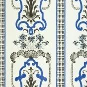 Tissu Bergius Cobalt Designers Guild
