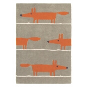 Tapis Mr Fox Cinnamon 90x150 cm Scion