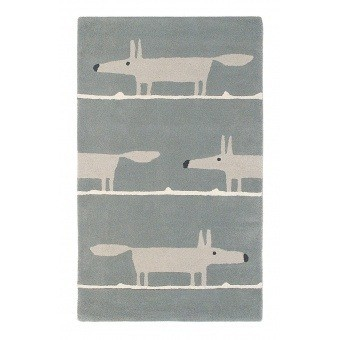 Mr Fox Silver Rug 90x150 cm Scion