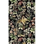 Papier peint Floral Tapestry Black/Green/Yellow/Red Mindthegap