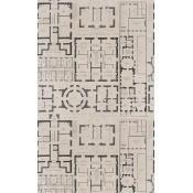 Papier peint Chateau Taupe/Black Mindthegap