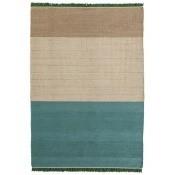Tapis Tres Stripes Green 170x240 cm Nanimarquina