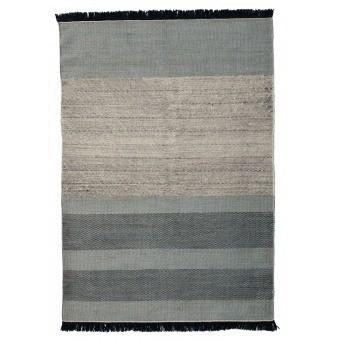 Tapis Tres Stripes Blue 170x240 cm Nanimarquina