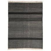 Tapis Tres Texture Black 170x240 cm Nanimarquina