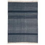 Tapis Tres Texture Blue 170x240 cm Nanimarquina