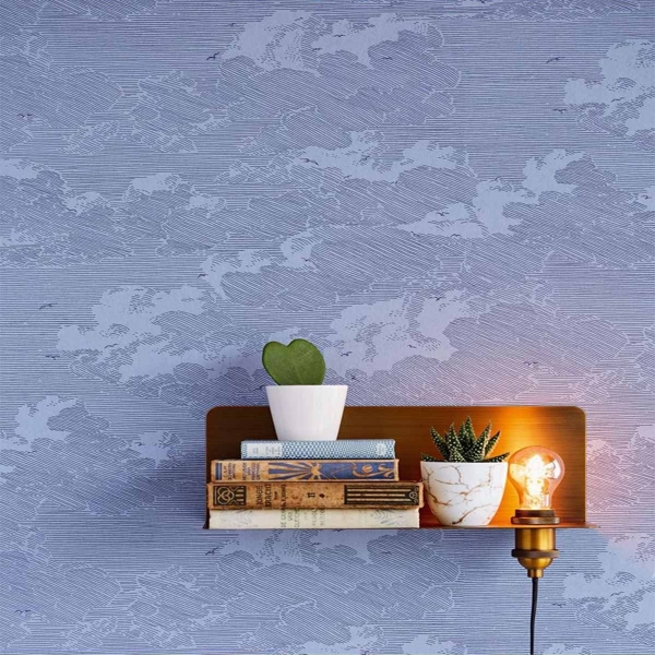 papier peint feathery clouds eijffinger. Black Bedroom Furniture Sets. Home Design Ideas