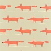 Tissu Mr Fox Kiwi Scion