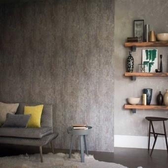 Nickel Wallpaper Beige Casamance