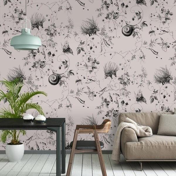 papier peint vert amande papier peint cadre vert amande fleuri de roses pixers nous vivons pour. Black Bedroom Furniture Sets. Home Design Ideas