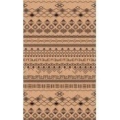 Papier peint Tribal Brown/Taupe Eijffinger