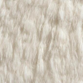 Ibex Fake Fur Cream Ostrich Naboa Casamance