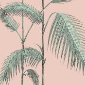 Papier peint Palm Leaves Bleu Ciel Cole and Son
