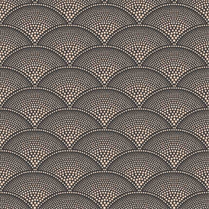 Papier peint Feather Fan Cole and Son Charcoal/Bronze 112/10033 Cole and Son