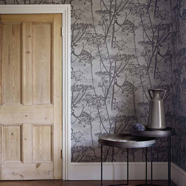 papier peint cow parsley restyled cole and son. Black Bedroom Furniture Sets. Home Design Ideas