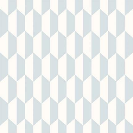 Papier peint Petite Tile Cole and Son Powder Blue 112/5018 Cole and Son