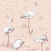 Papier peint Flamingos Rose Cole and Son