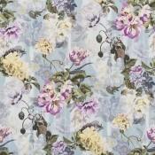 Tissu Delft Flower Graphite Designers Guild