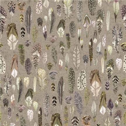 Tissu Quill Designers Guild Naturel FDG2754/02 Designers Guild