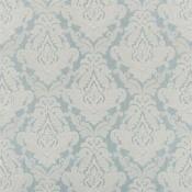 Tissu Connaught  Aquamarine Royal Collection