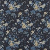Tissu Tallulah Floral  Indigo Ralph Lauren