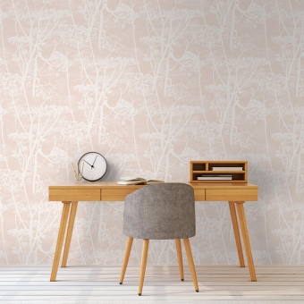 Cow Parsley Restyled Wallpaper Argile Cole and Son