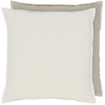 Brera Lino Cushion Alabaster Designers Guild