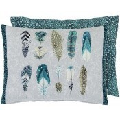 Coussin Quill Duck Egg Designers Guild