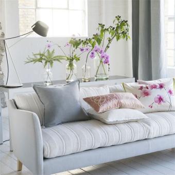 Brera Lino Cushion Alabaster Designers Guild